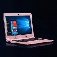 12 Laptop Windows10 128GB SSD Ultrabook Fast CPU Intel 4 Core Light Busines Student Pink Arabic AZERTY Spanish Russian Keyboard