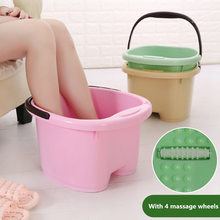 Increase The Thickening Of Japanese Foot Massage Roller Bath Tub Household Plastic Large