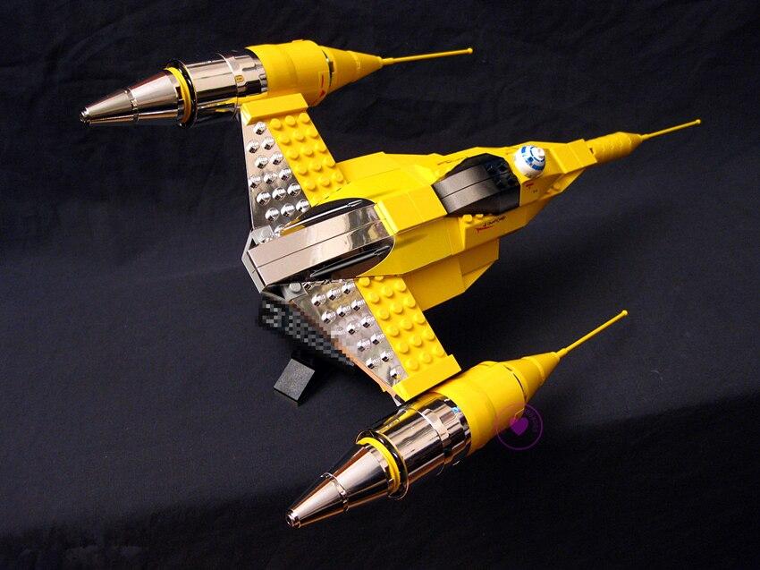 Nouveau La Rogue Un USC Naboo Style Combattant fit legoings star wars Fighter chiffres 10026 Building Blocks Briques bricolage Jouets cadeau enfant