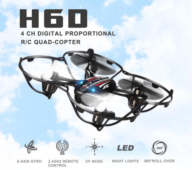 H6D Quadcopters FPV Mini Drones Con Hd Cámara de vídeo Con Cámara De Vuelo Dron Helicóptero JJRC Drones Rc Juguetes Helicóptero Cámara Profesional