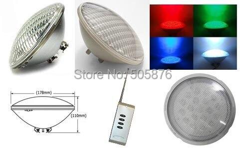 Free Shipping RGB 18W 252 LEDS PAR56 led swimming pool light