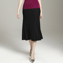 New Womens  MIYAKE pleated skirt Spring and Summer free shipping