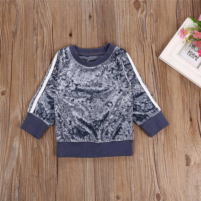 children's clothing girl Long Sleeve o-neck Clothes Set Solid Tops+Pants Outfits kid autumn winter suit ropa para adolecentes
