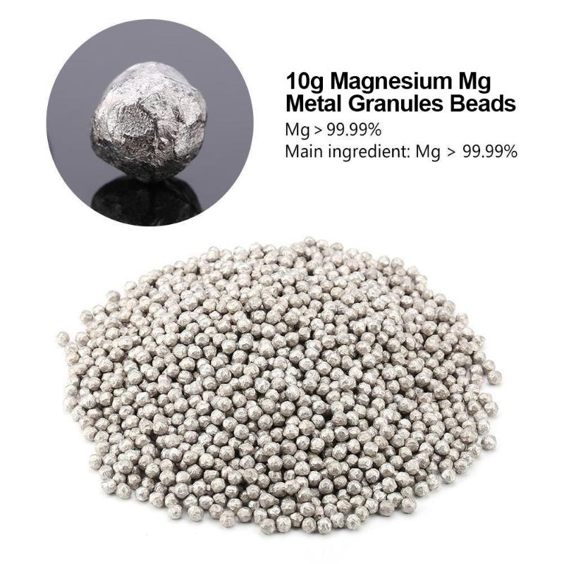 1pc Metal ORP Magnesium Granule Beans Ball Convenient Tool for Water Filter Metal 10g, 20g, 50g, 100g Outdoor Equipment