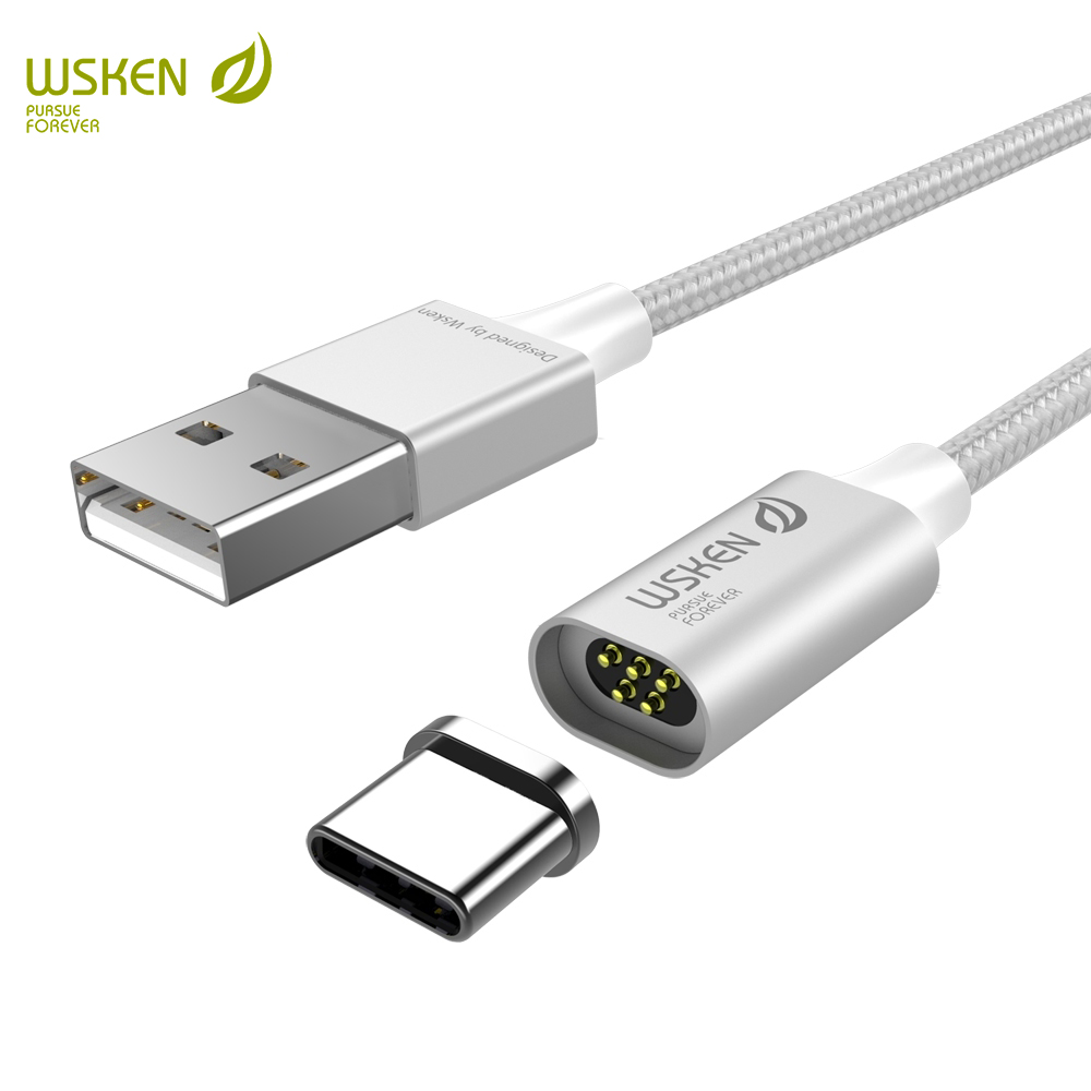 wsken lite2 usb c magnetic charge cable usb type c cable. Black Bedroom Furniture Sets. Home Design Ideas