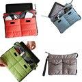 Bolsa de nueva bolsa de doble cremallera bag in bag multifuncional bolsa de viaje mini suave con asas 15