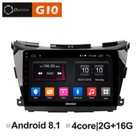 Ownice C500+ G10 Eight Core Android 8.1 2GB RAM car dvd for Nissan NAVARA MURANO NP300 stereo radio gps 1080P 4G LTE DAB+ DVR