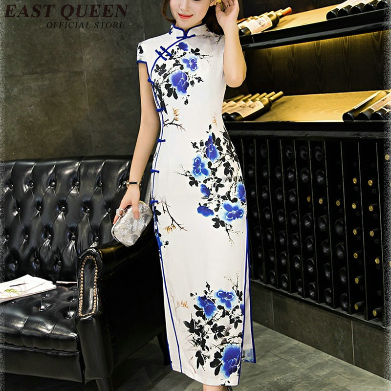 Cheongsam qipao chinois orienal robe chine femme traditionnelle chinoise vêtements pour femmes qi pao sexy chinois robes KK312