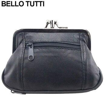 df2839f2f95d BELLO Тутти для женщин пояса из натуральной кожи портмоне Оригинальный  дизайн женский кошелек для монет держатель для карт маленький кошелек,.