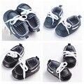 100% Hecho A Mano Del Bebé Del Bebé Mocasines niños Zapatos infantiles Zapatos Lace Up de Cuero de LA PU zapatos de bebé Únicos Suaves perwalkers ocio zapatos