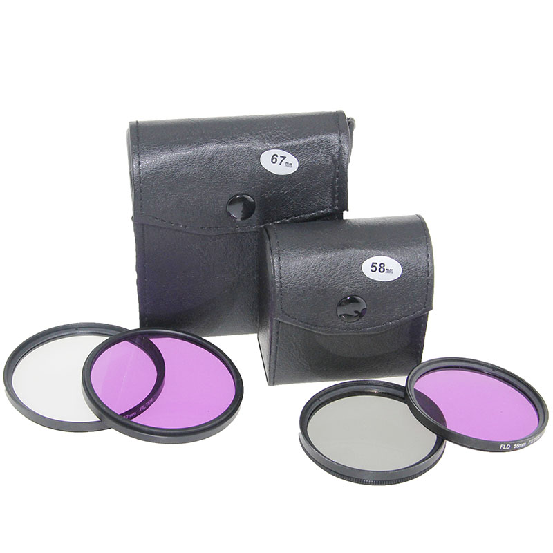 UV-FLD CPL ZAK Filter Set Lens Beschermen 49/52/55/58/62/67/72 / 77mm - Camera en foto - Foto 6