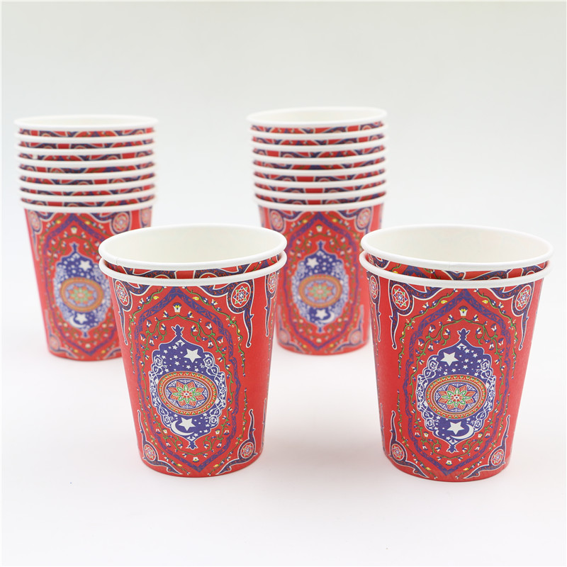 Online buy wholesale decorated drinking glasses from china for Arabian decoration materials trading