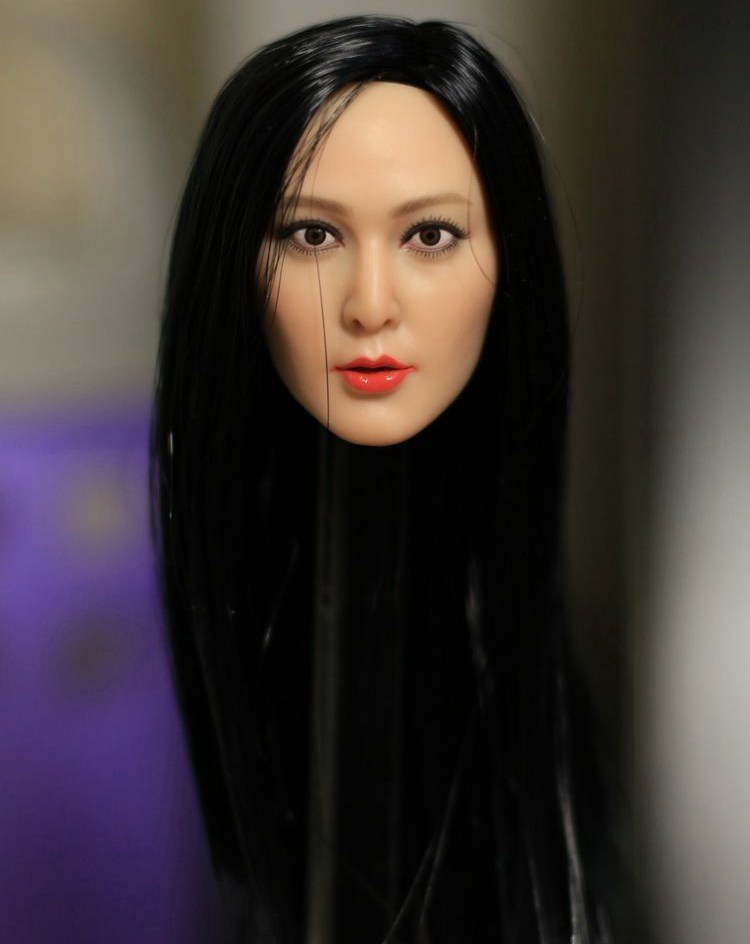 1/6 scale Female head for 12 Action figure doll accessories,beauty Fan Bingbing doll head sculpt .Not included clothes and body 1 6 scale superwoman head sculpt and clothes models for 12 inches action figures dolls accessories