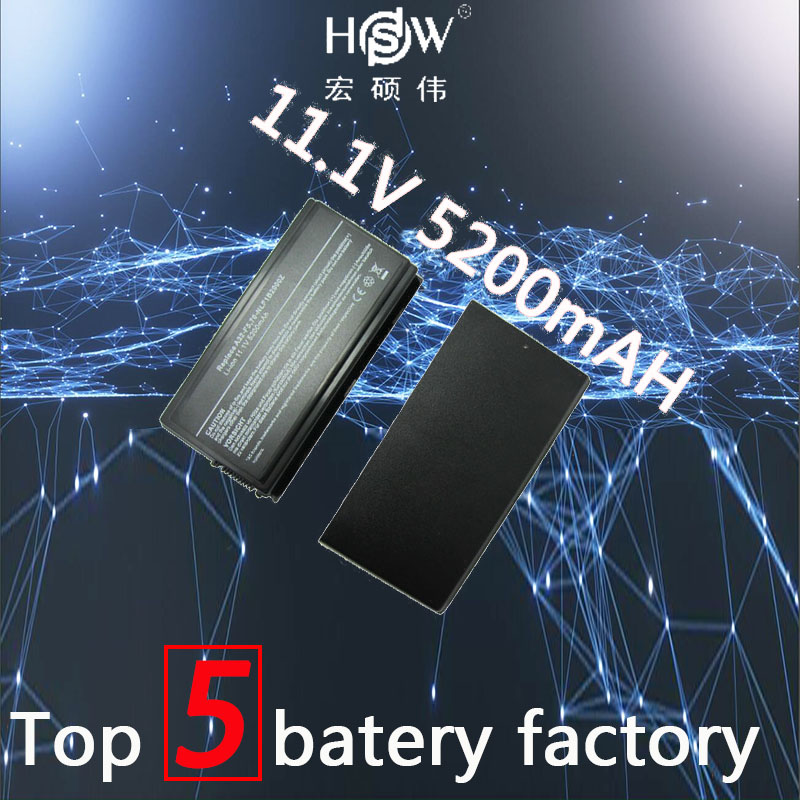 HSW Laptop Battery A32-F5 For Asus F5 F5C F5GL F5M F5N F5R F5RI F5SL F5Sr F5V F5VI F5Z X50 X50C X50M X50N X50R X50V bateria akku for asus f5r f5rl x50r x50rl laptop motherboard rev rev2 3 replace f5sl f5n motherboard fully tested 100