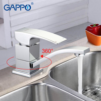 GAPPO Water Mixer Bathroom Sink Faucet Tap Basin Sink Tap Mixer Brass Faucet Waterfall Toilet Basin