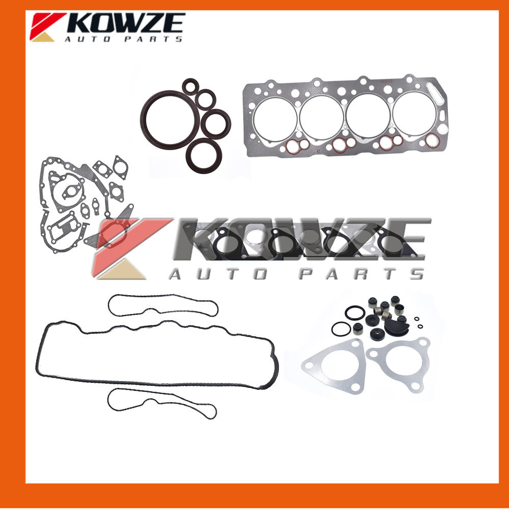 US $45 74 |Engine Overhaul Gasket Kit For Mitsubishi Triton L200 2 5D 4D56  2WD 1999 2007 1000A896 MD976864-in Valves & Parts from Automobiles &