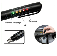 20pcs Lot Auto Car Liquid Testing Brake Fluid Tester Check Car Crake Oil Quality LED Indicator