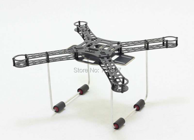 Lji 380 X4 380mm S380 Ultraligt Carbon Fiber Frame Kit with Power Distribution Board for DIY RC Multicopter FPV Drone