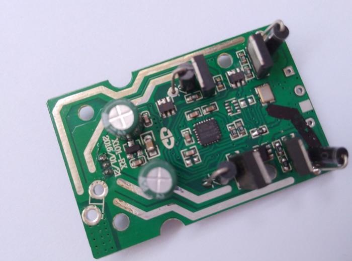 Original MJX R/C Technic X101 Drone 2.4g Receiver/PCB Board /main board Spare Parts Accessory for MJX X101