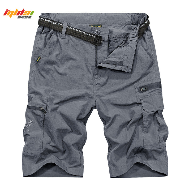 Summer Mens Tactical Shorts Brand Clothing Military Cargo Shorts With Belt Pocket Short Pantalones Corto Quick Dry Loose shorts