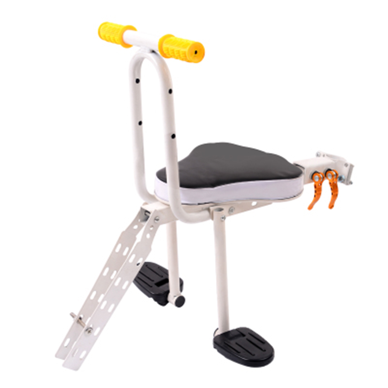 2017 Sella Carbonio Cojines Bicycle Parts Mountain Bike Child Seat Front Electric Car Folding Baby Safety With Quick Release