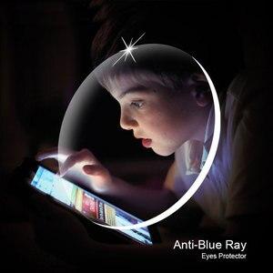 Image 4 - 1.61 אנטי כחול Ray מרשם אופטי משקפיים משקפיים עדשות 1 זוג rx מסוגל עדשות משלוח הרכבה עם משקפיים מסגרת