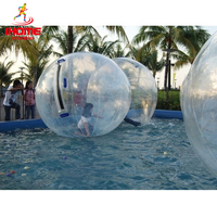 JIAINF TPU 2m inflatable Zorb Water Walking Ball walking ball dance ball inflatable walking ball with Germany TIZIP Zipper