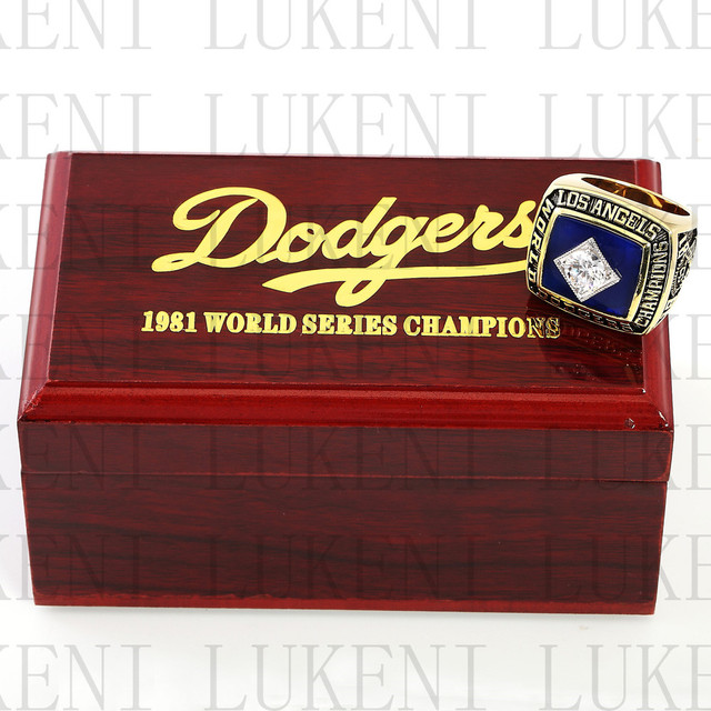 Replica 1981 Los Angeles Dodgers World Series Championship Ring
