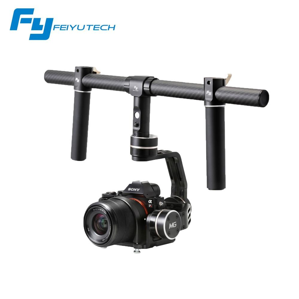 купить F17006 Feiyu FY-MG MG 3 Axle Brushless Gimbal 360 Stabilizer for Mirrorless Cameras A7 A7R A7S A7 II A7S II A7R II GH4 / NEX-7 онлайн