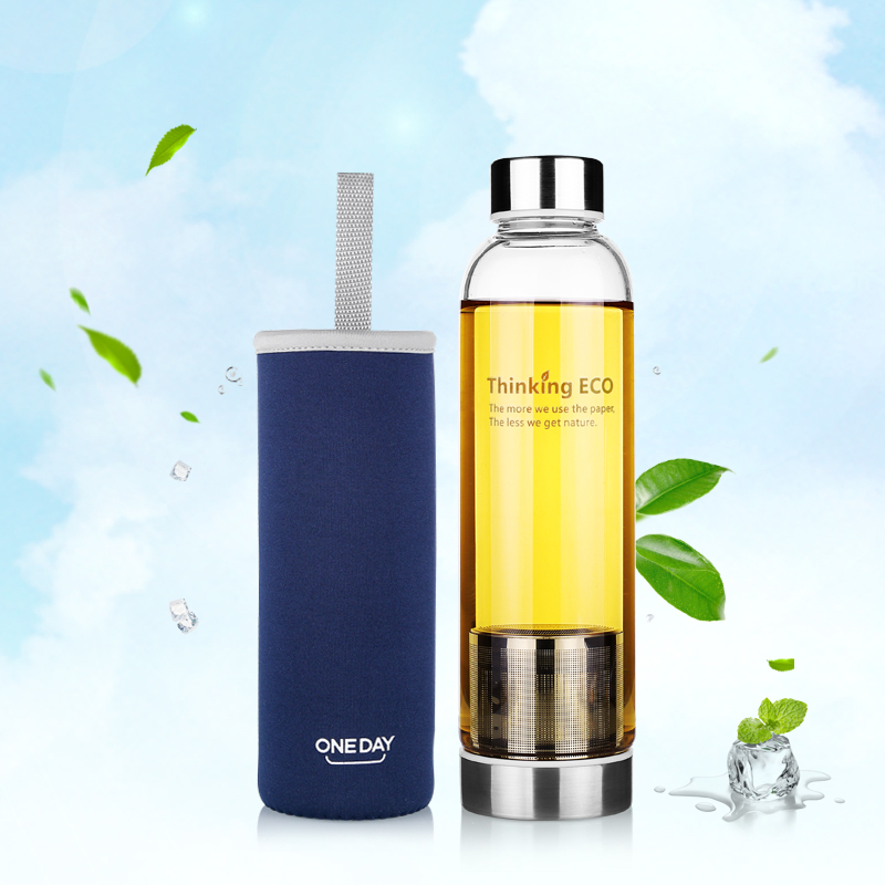 Buy 550ml my bottle glass tea infuser for Floor 9 water bottle