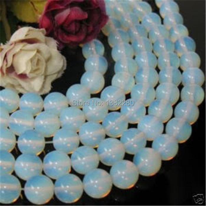 ! Großhandel Fashion Style diy 4mm Sri Lanka Mondstein Runde Lose Perlen...