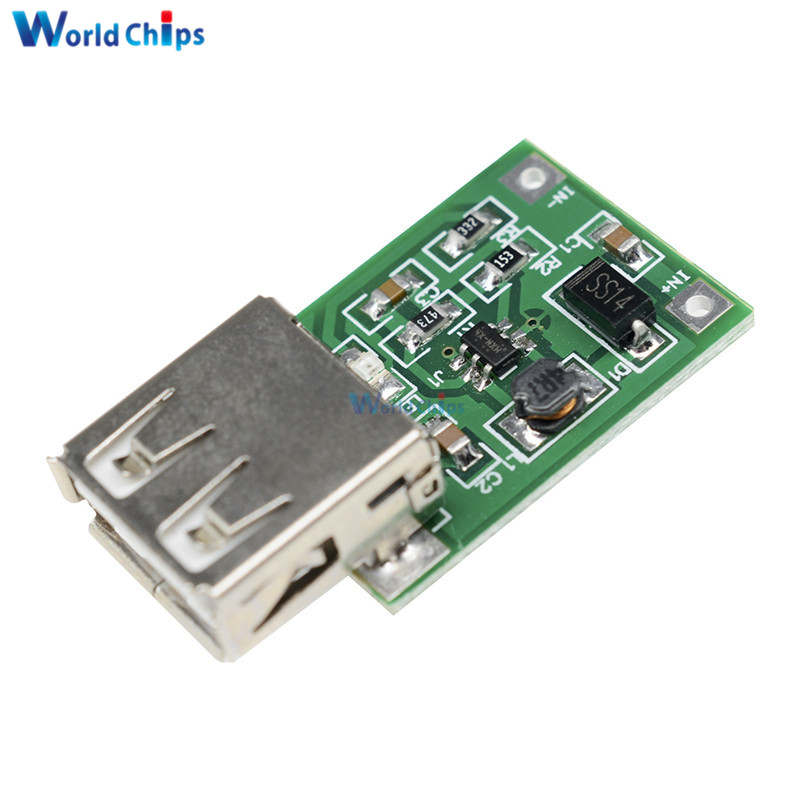 Bright 5pcs 0.9v-5v 600ma Usb Output Boost Converter Mini Dc-dc Step-up Power Module Lithium Battery Charger Board High Efficiency To Have Both The Quality Of Tenacity And Hardness Electronic Components & Supplies