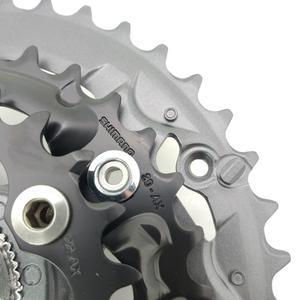 Image 3 - Shimano Alivio M4050 T4060 27S bike guarnitura 22 30 40T 22 32 44T 170 millimetri 3*9 velocità di 40t 44t hollow guarnitura bicicletta ruota di catena BB52
