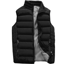 Жилет мужской новый стильный 2019 весна осень теплая куртка без рукавов мужской зимний жилет мужской жилет Повседневные Пальто мужские s плюс размер 5XL