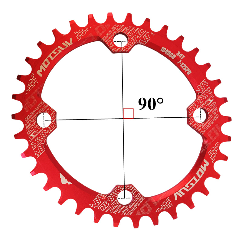 ALI shop ...  ... 32785074855 ... 3 ... MOTSUV Bicycle Crank 104BCD 32T/34T/36T/38T Oval Chainring Narrow Wide MTB bike Chainwheel Circle Crankset Plate Bicycle Parts ...