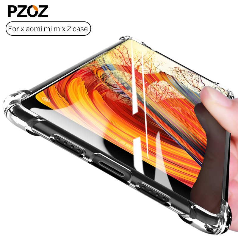 PZOZ Xiao mi mi mi x 2 s Case oryginalny luksusowy silikon tpu przezroczysty odporny na wstrząsy ochronny mi mi x 3 skrzynki pokrywa Xao mi Xio mi x2 s
