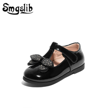 Girls Red Shoes Genuine Leather toddler Shoes Children