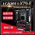 Envío de la Nueva 2011X79 placa madre del ordenador compatible memoria RECC servidor E5 2670CPU conjunto X58 segundo