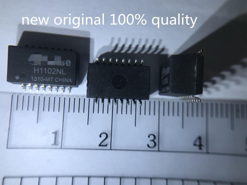 10 шт. Новый оригинальный 100% качество H1102NL H1102NLT LAN дискретный модуль трансформатора H1102 SOP-16