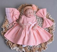 цена 55cm High quality full Silicone Bebes Reborn Baby Girl doll 22