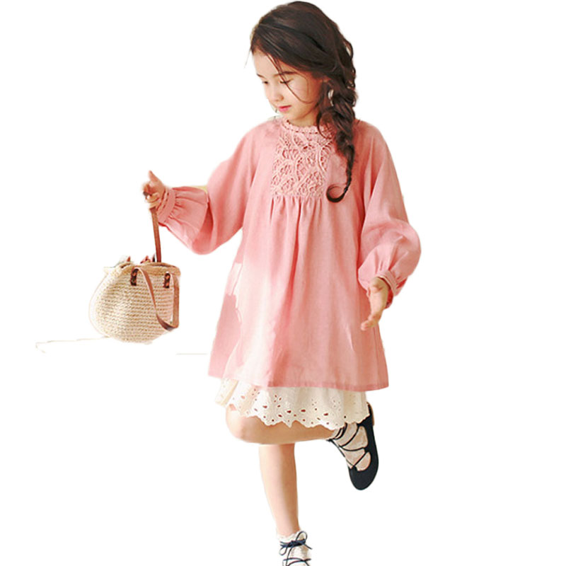 Подробнее о 2017 Autumn Dress Girl Kids Dresses Children Lantern Sleeve Baby Girls Clothes Costumes Clothing For Wedding Birthday Party children costumes for girls sweet princess dress baby girl school dresses for birthday party long sleeved bow girl kids clothes