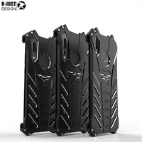 HUAWEI P20 Pro 6 1 Metal Phone Case R JUST Batman Duty Armor Aluminum Metal Mobile