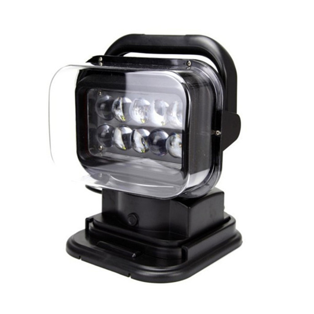 Hot sale 360 degree Remote control led work light, 50w LED search lights, hunting lights