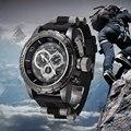Relojes de los hombres V6 Super Speed Marca de Lujo Banda de Silicona Reloj de Cuarzo Reloj Militar Del Ejército Reloj Deportivo relogio masculino