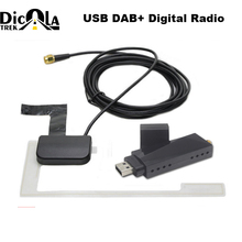 USB 2,0 цифрового DAB + радио тюнер приемник палка для Android dvd-плеер автомобиля Авторадио Стерео USB DAB Android радио автомагнитолы