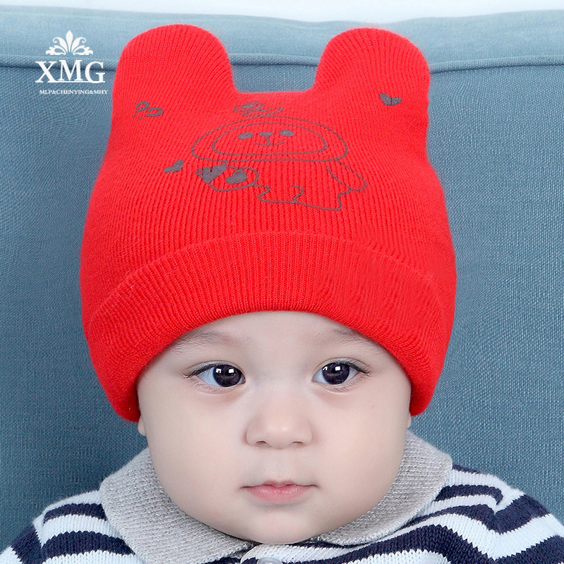 fee45727a Newborn baby in autumn and winter hats for children boys and girls 0 ...