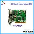 LINSN DS802 светодиод Отправки Карты (DS802D) с одним и двумя светодиодный экран отправки карты
