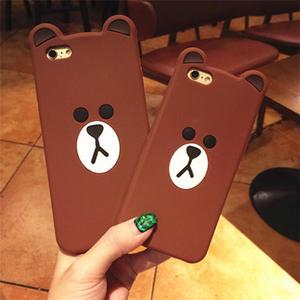 4c9aeb2e379 Small brown bear Case For Samsung Galaxy S3 S4 S5 S6 S7 Edge S8 Plus Note 3  4 5 A3