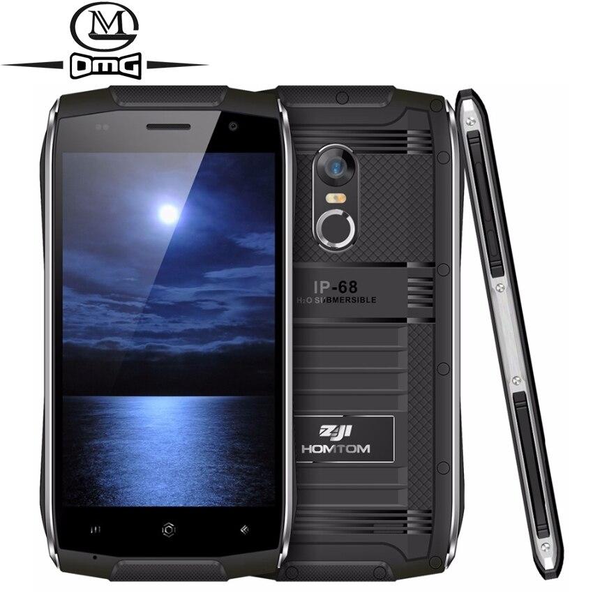 Doogee HOMTOM зоджи Z6 <font><b>IP68</b></font> Водонепроницаемый противоударный мобильный телефон mt6580 Quad Core сотовый телефон 4.7 &#8220;Android 6.0 1 ГБ Оперативная память 3G смартфон