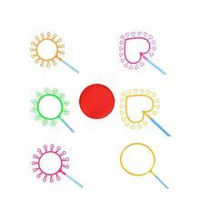 7 шт прочный Вес выдувная пузырьковая игрушка набор креативная игрушка для игры дома и на улице устройство для мыльных пузырей набор инструментов для